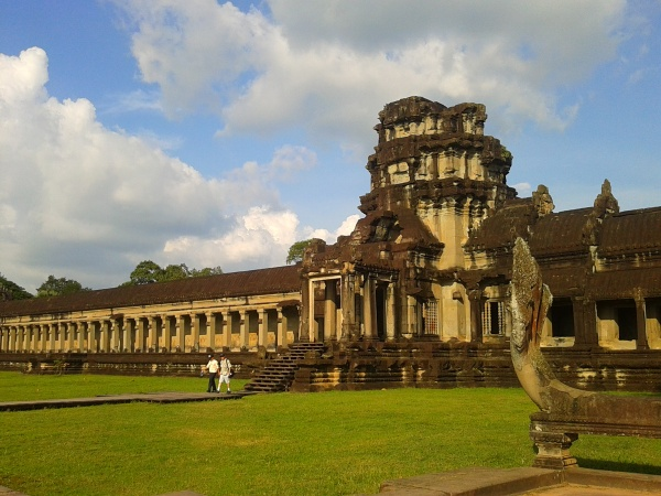 Grounds in Angkor Wat