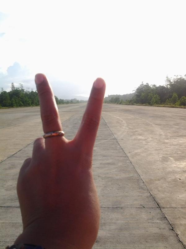 San Vic runway