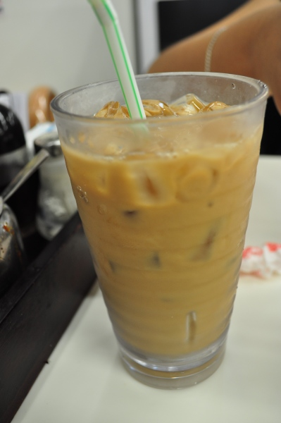 Cold milk tea