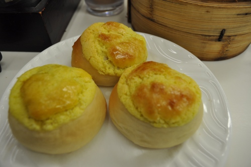 Pineapple pork bun