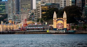 Luna Park at Milson's Point. Source : http://www.experiencesydneyaustralia.com/sydney-australia-highlights/luna-park/