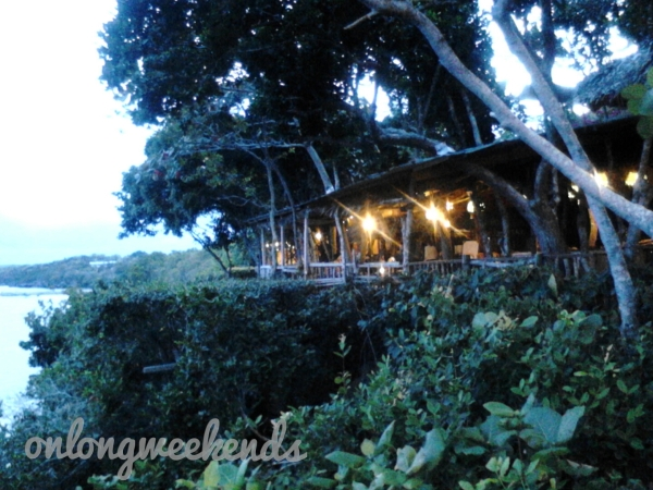 Dinner at Bohol Bee Farm