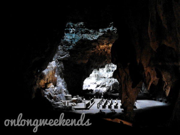 Inside Callao Cave, Cagayan Province