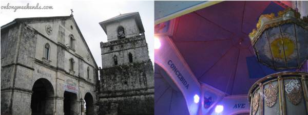 Church of Our Lady of the Immaculate Conception in Baclayon