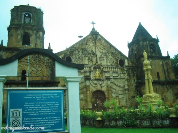 Church of Saint Thomas of Villanova or the Miagao Church