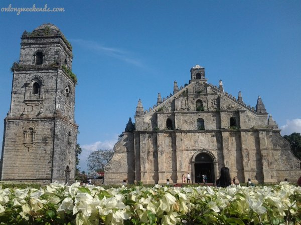 The Church of St. Augustine in Paoay, Ilocos Norte